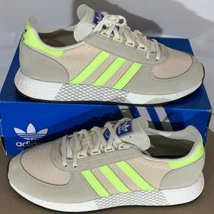 Men Adidas Marathon Tech with Boost Running Shoes